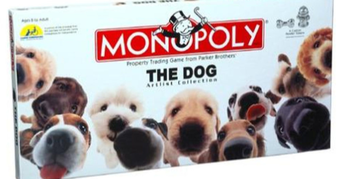 Dog Monopoly Lets You Buy Dogs As You Work Your Way Around The Board