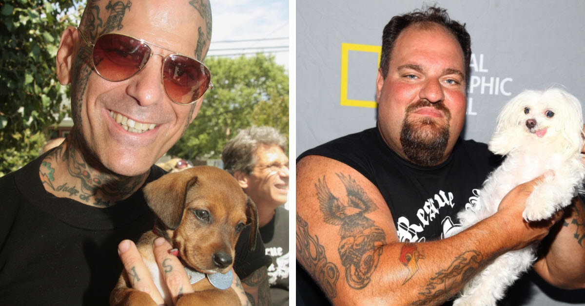 Biker Gang Rescues Animals From Violent Owners And Breaks Apart Dog Fight Rings
